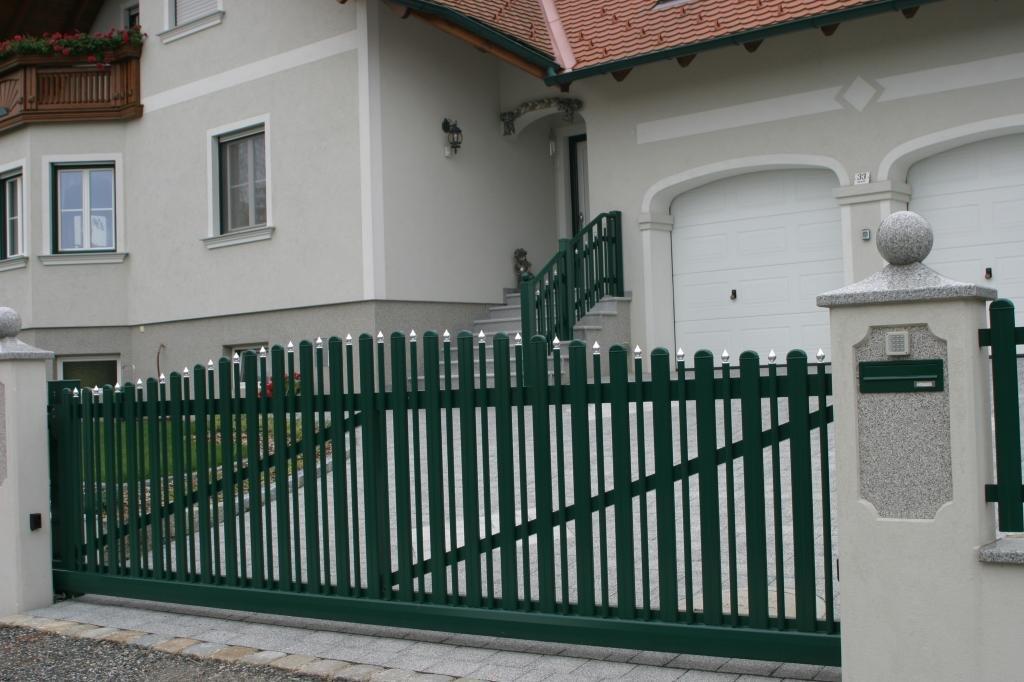Aluminio valla Milano, valla para casa y el jardín, vallas de aluminio con garantía de por vida: Amazon.es: Hogar