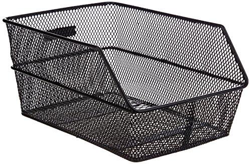 Basil Fahrradkorb Cento S, Black, 36 cm x 26 cm x 18 cm - 2