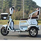 dfff Electric 3 Wheel Bicycle,Electric Scooter,Adult Outdoor Wagon Lithium 60V 20A/ Fastest Speed 40KM/H/Load 200 Kg for Elderly Disabled Men Wom
