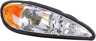 Headlight Replacement For Pontiac Grand Am Passenger Right Side Rh 1999 2000 2001 2002 2003 2004 2005 Headlamp Assembly