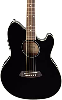 Ibanez Talman TCY10 Acoustic-Electric Guitar Black