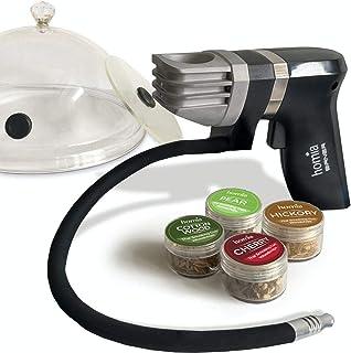 Smoking Gun Wood Smoke Infuser - Extended Kit, 12 PCS, Portable Electric Smoker Machine with...