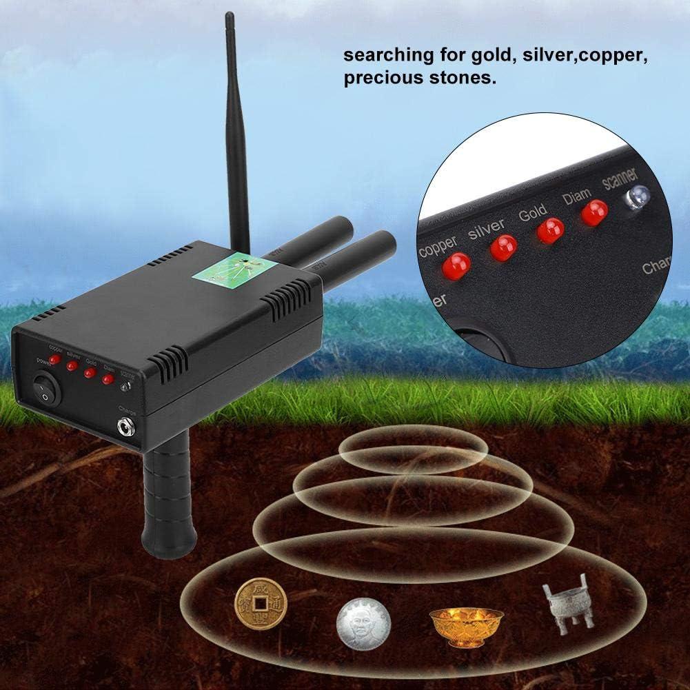 110V -240V European plug Detector de metales subterr/áneo eficiente y profesional Dispositivo de localizaci/ón de puntas Detector de metales subterr/áneo
