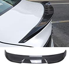 NINTE Spoiler for 2018 2019 Toyota Camry LE/XLE/SE/XSE/Hybrid - ABS Painted Carbon Fiber Coating TRD Style Trunk Wing
