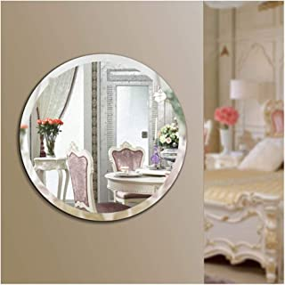 Beauty4U Round Beveled Frameless Wall Mirrors - 20