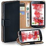 MoEx® Booklet mit Flip Funktion [360 Grad Voll-Schutz] für Samsung Galaxy S4 | Geldfach und...