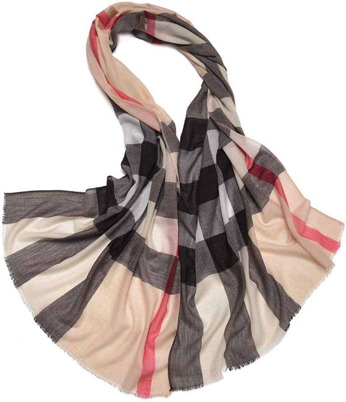 Gquan Fashion Scarf Warmth Thicken Fall Winter Slim Ladies Style Shawl