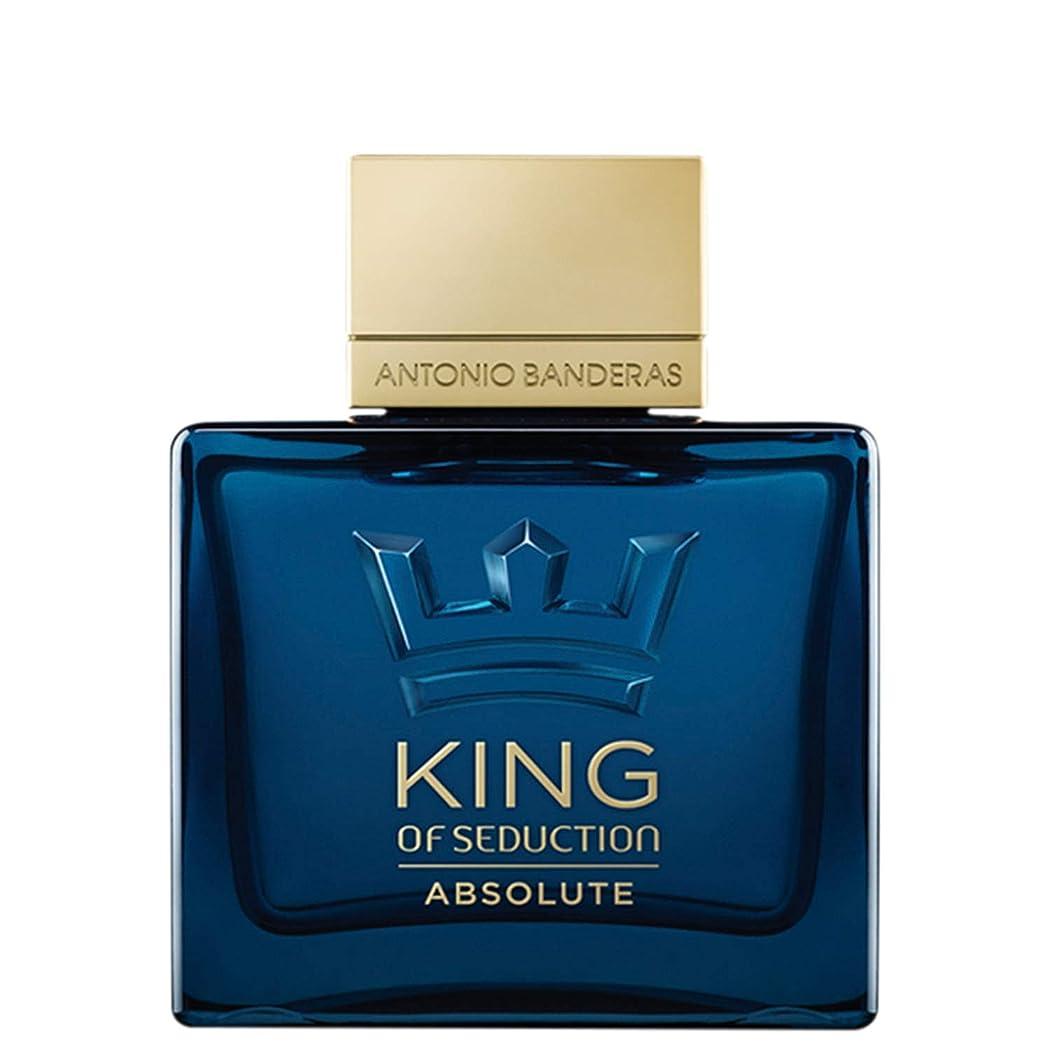 ダルセット置き場鉛筆アントニオバンデラス King Of Seduction Absolute Eau De Toilette Spray 100ml/3.3oz並行輸入品
