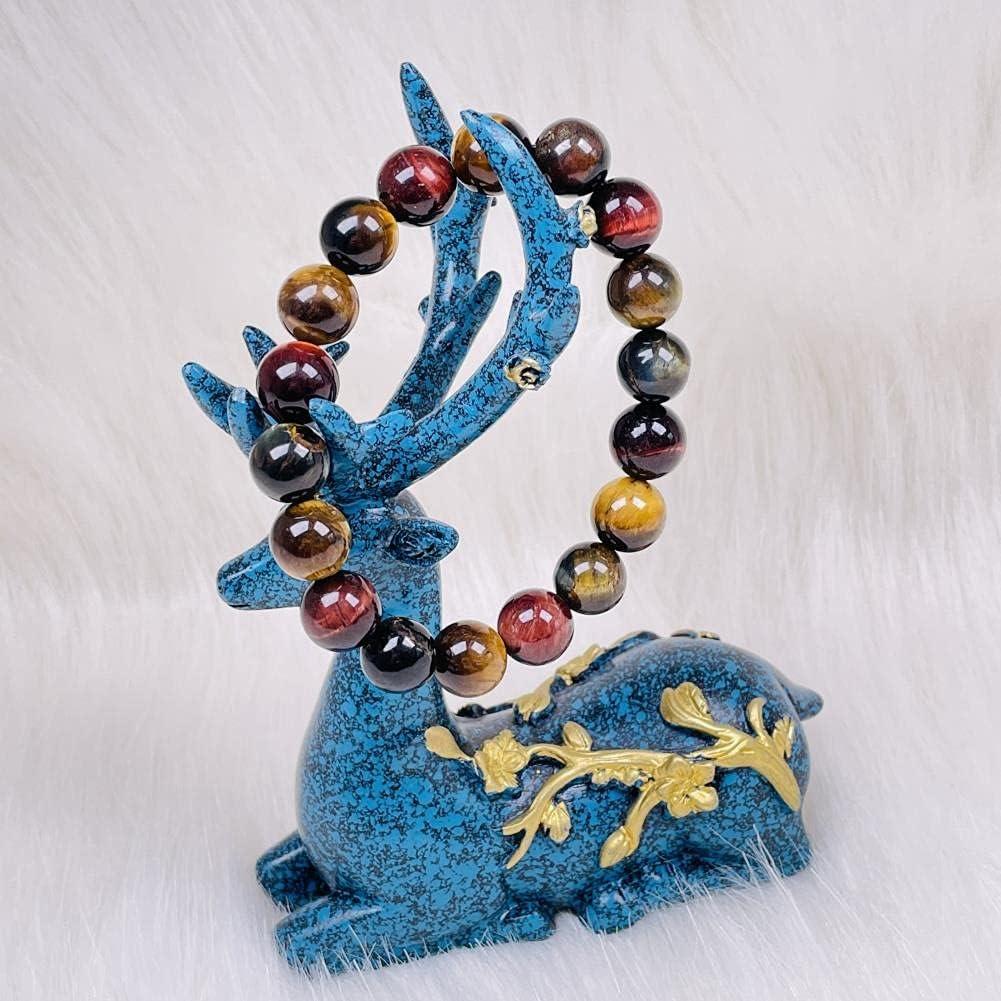 KKSI Natural Tiger's-Eye List price Gemstones Healing Chakra Bracelet Stone Max 47% OFF