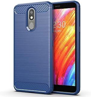 LG Aristo 4 Plus Case,LG Prime 2 case Slim Thin Soft Flexible TPU Rubber Gel Skin Silicone Anti-Scratch Shockproof Carbon ...