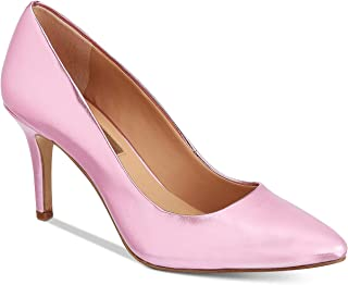 INC International Concepts Zitah Pumps Pink Metallic 10M US