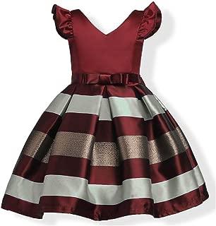 Girls Short Petal Sleeve Princess Dress Party Formal Dress for Baby