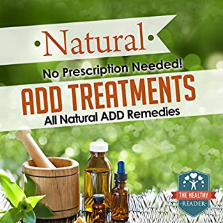 Natural ADD Treatments audiobook cover art