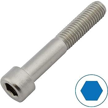50 St/ück M2,5 x 40 mm Zylinderschrauben DIN 912 Edelstahl A2 VA V2A Innensechskant Zylinderkopf