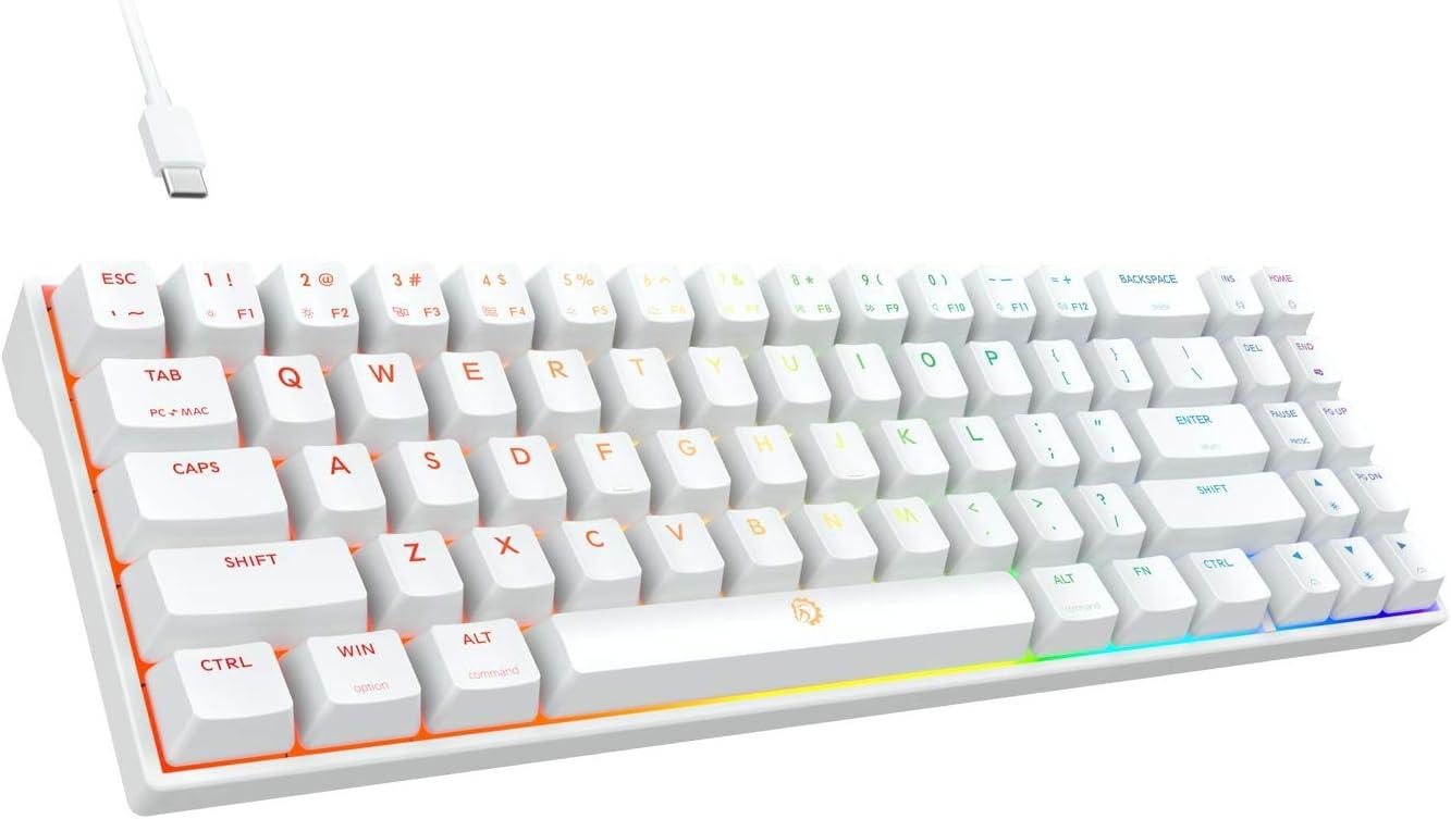 DREVO free shipping Calibur Las Vegas Mall V2 TE RGB 60% Wired 71 Gaming Mechanical Keyboard
