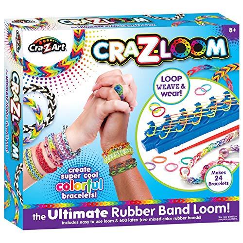 Cra-Z-Art Cra-Z-Loom Rubber Band Bracelet Maker Kit
