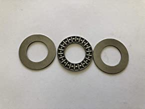1 Set AXK2035 Thrust Needle Bearing 20x 35x 2 mm with 2 Washers #BSSTM