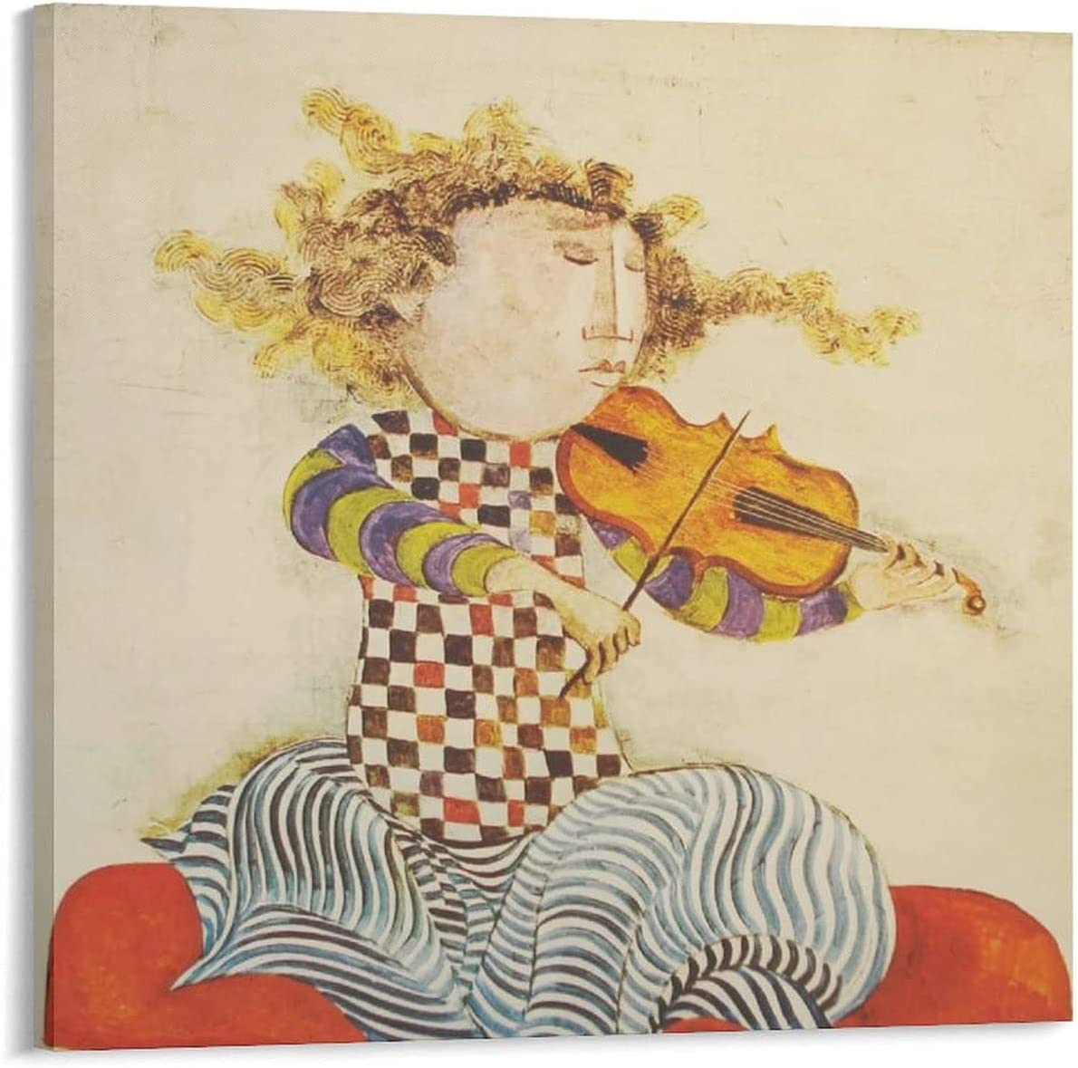 NEW before selling ☆ Artist Graciela Rodo Boulanger Paintings De Le Gifts Violon Poster for