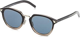 2aa0994402 Christian Dior Men's DIORTAILORING1 KU 09Q 51 Sunglasses, Brown (Brown/Blue  Avio)