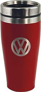 Brisa VW Collection VW Taza térmica, Acero Inoxidable, 400ml - Rojo