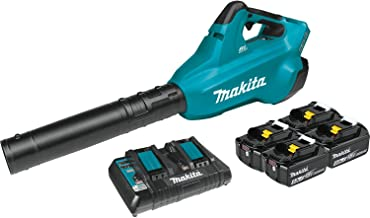 Makita XBU02PT1 18V X2 (36V) Blower Kit with 4 Batteries, Blue