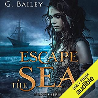 Escape the Sea audiobook cover art