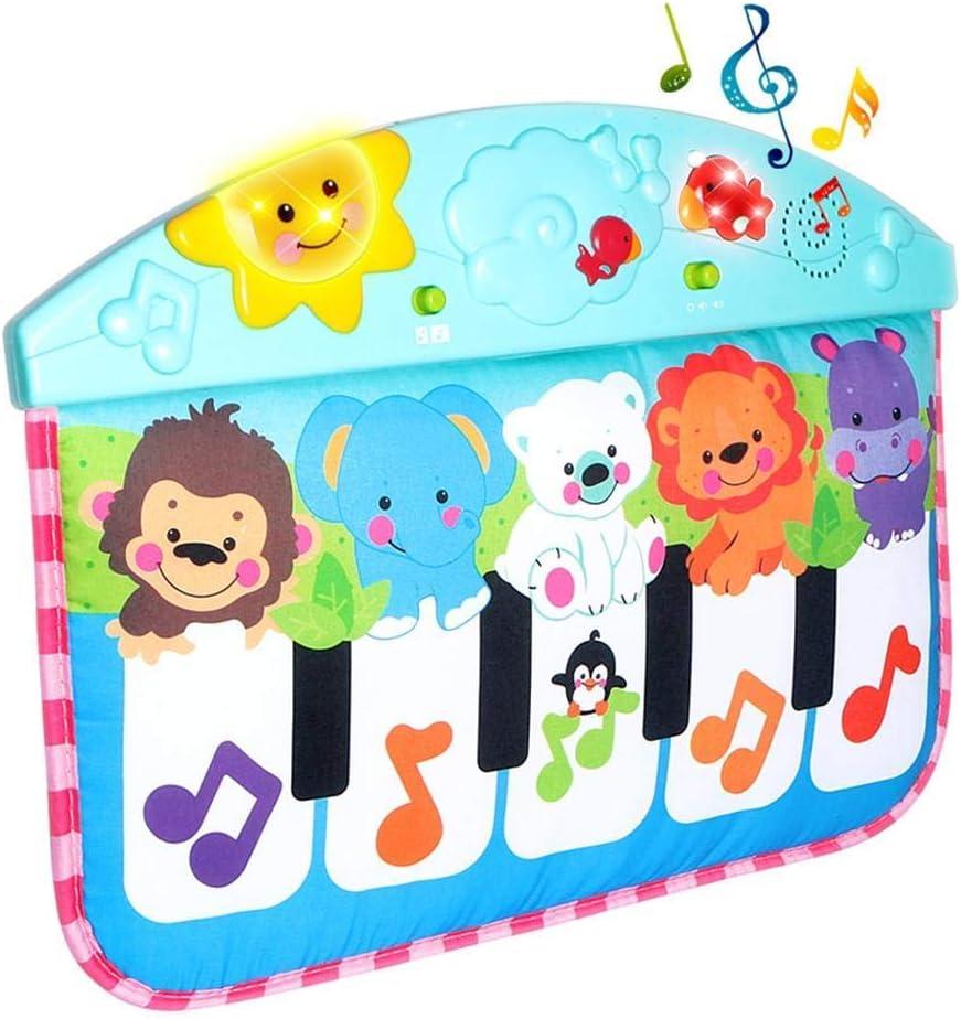 RIsxffp Manta de Musica Dibujos Animados Animal Bebé Música ...