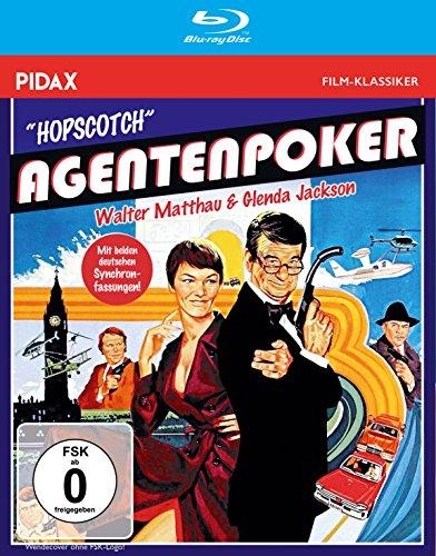 Agentenpoker (Hopscotch) - Filmperle mit Walther Matthau und Glenda Jackson mit beiden deutschen Synchronfassungen (Pidax Film-