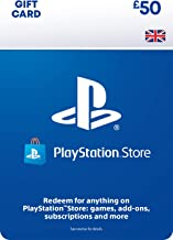 PlayStation PSN Card 50 GBP Wallet Top Up | PS5/PS4/PS3 | PSN Download Code - UK account