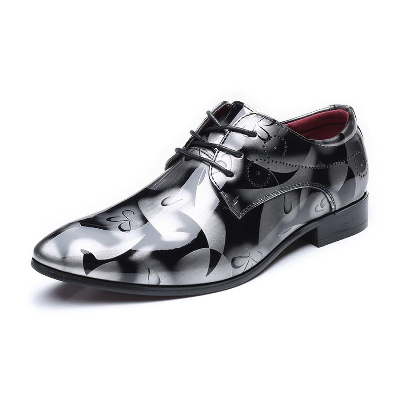 [MUMUWU] ビジネスシューズ 靴 メンズ クラシック レザー シューズ 通気性 革 柔軟 ビジネスシューズ
