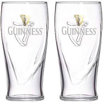 Guinness Draught Pint Glasses x 2