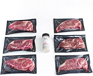 New York Strip End-Cut by Nebraska Star Beef - All Natural Hand Cut and Trimmed Steaks Delivered to Your Door