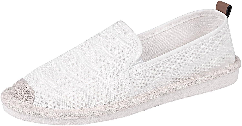 Women's Mesh Slip On Loafer Casual Flats Walking Espadrille Sneakers