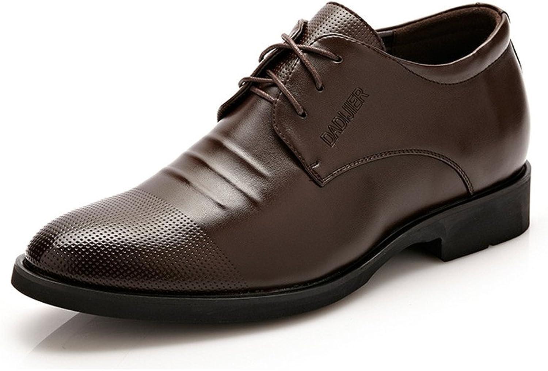 XXY Männer Klassische Spitzenkleid Schuhe Höhe Zunehmende PU PU PU Leder Oxfords Business Hochzeit Formelle Schuhe für Herren Atmungsaktiv  010722