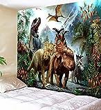 KHKJ Tapiz de estantería Retro mágico Tapiz de Chimenea de Navidad tapices artísticos para Colgar en la Pared decoración del Dormitorio del hogar A4 150x130cm