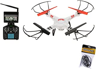 GoolRC Wltoys V686G 2.4G 4CH Real Time Transmission FPV Drone UFO Quadcopter with 2MP HD Camera Headless Mode