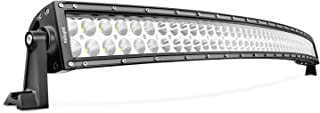 LED Light Bar Nilight 42Inch 240W Curved LED Work Light Spot Flood Combo LED Lights Led Bar Driving Fog Lights Jeep Off Road Lights, 2 Years Warranty