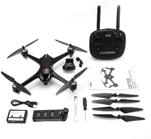 ZinESaya JJR C X8 2.4G Brushless Motor RC Drone with 5G WiFi FPV 1080P HD Camera GPS