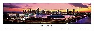 Miami, Florida - Unframed Blakeway Panoramas Print