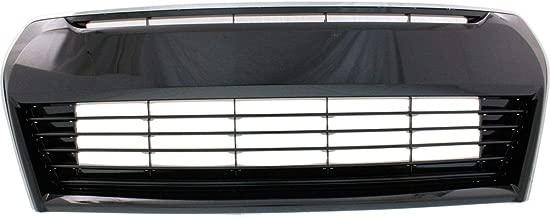 MBI AUTO Front Bumper Cover Fascia for 2014-2016 Toyota Corolla Sedan S 14-16 Primered TO1000400