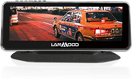 "$499 Get LANMODO Car Night Vision Camera - for Automobile Driving Security - 8.2"" HD Screen 1080P Full-Color Image Sony DSP Chip Inside,Night View Distance up to 984 ft/300 m"