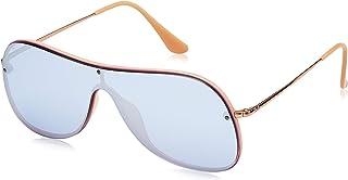 unisex-adult Rb4311n Shield Aviator Sunglasses Aviator...