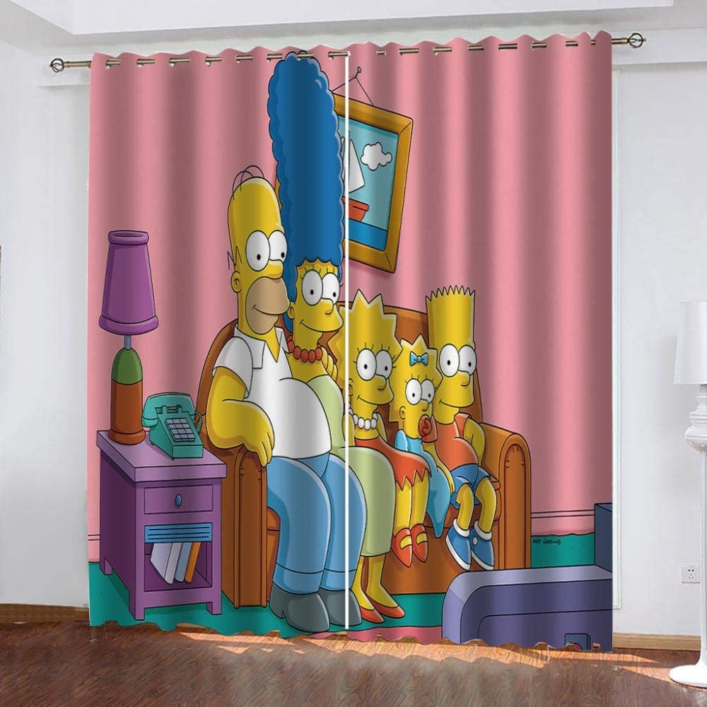 All stores are sold PTBDWOSZ 3D Printed Super Special SALE held Window Blackout Cartoon Curtains Chara Anime