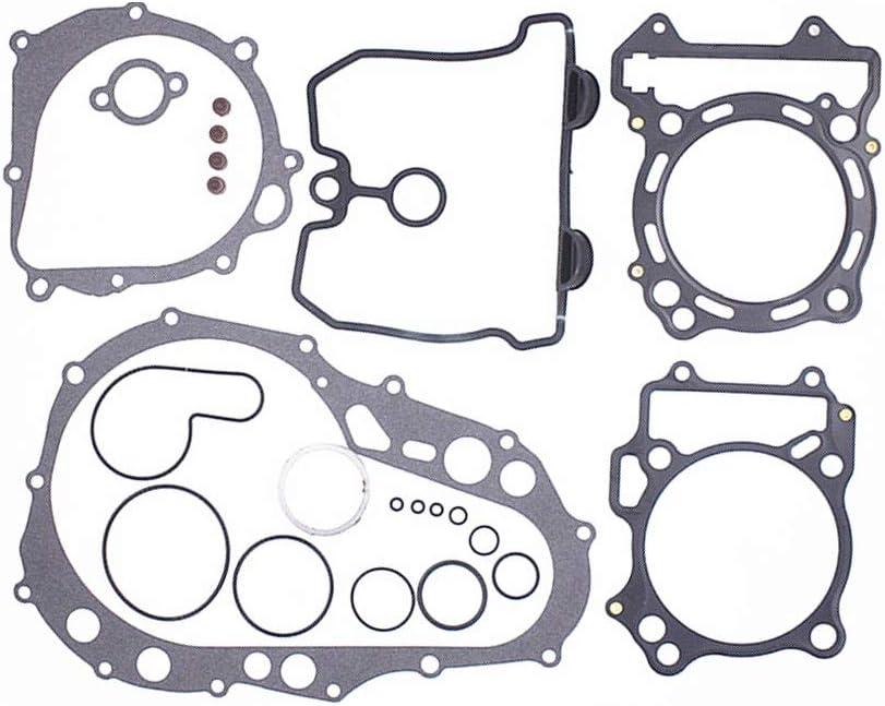 CQYD Complete Gasket Max 76% OFF Kit Top Bottom End Manufacturer OFFicial shop DVX Engine KFX Set 400