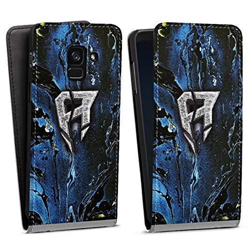 DeinDesign Flip Case kompatibel mit Samsung Galaxy A8 Duos 2018 Tasche Hülle ApoRed Merchandise Logo