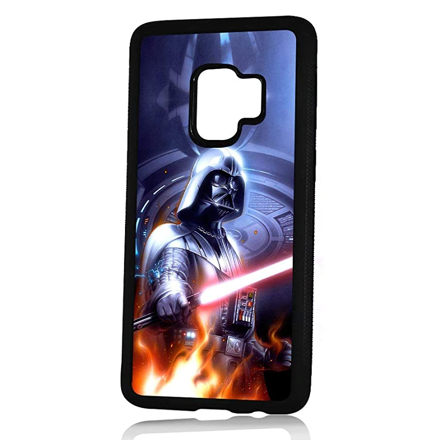 (for Samsung Galaxy S9+ / S9 Plus) Durable Protective Soft Back Case Phone Cover - HOT30438 Starwars Darth Vader
