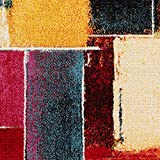 60x90 ABC Kilim Sivas 3 Tappeto Rosso//Multicolore