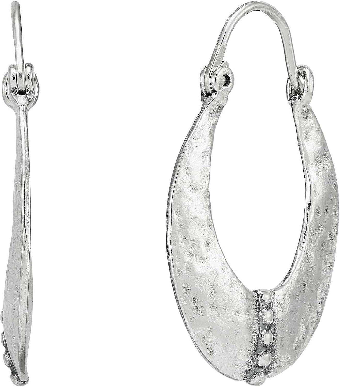 Silpada San Jose Mall Las Vegas Mall 'Out About Hoop Silver Sterling Earrings' in
