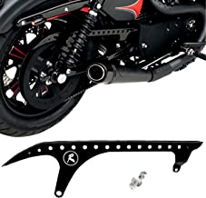 Rear Pulley Guard Black Drive Pulley Cover For Harley Sportster XL 883 1200 48 72 SuperLow Nightster 2004-2018 Models