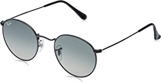 RB3447N Round Flat Lenses Metal Sunglasses